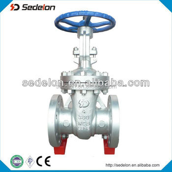 API6D Cast Steel Rising Stem Split/Flexible Wedge Gate Valve