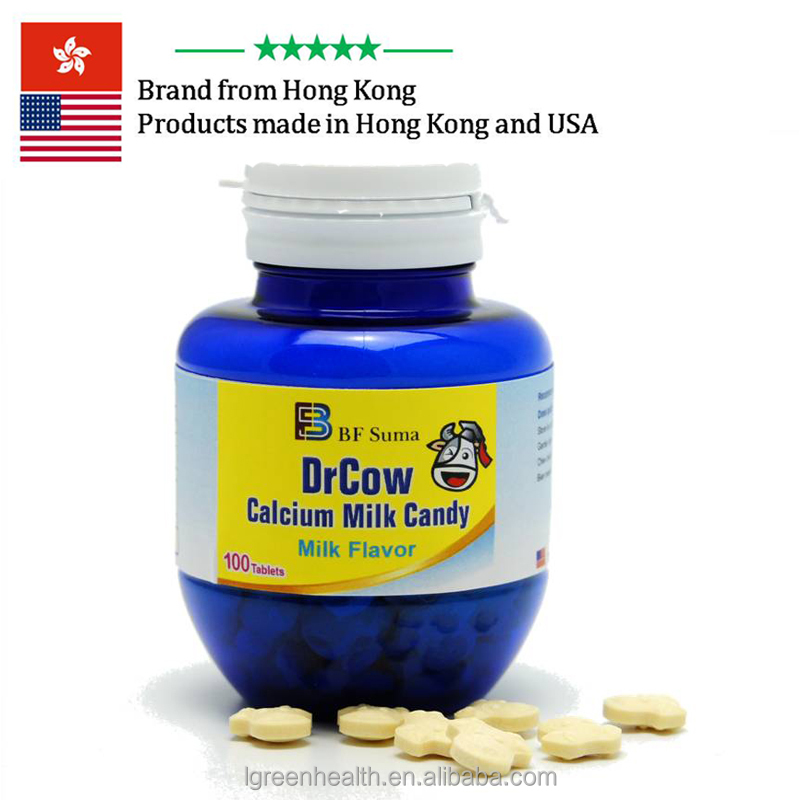 Dr Cow Milk powder chewable tablet candy for kids