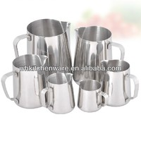 350/600/1000ML 20 Gauge 18/8 stainless milk jug