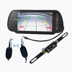 "7"" Car Rearview Mirror With Parking Camera (KT-602H&KT-113)"