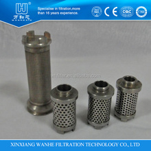 80 micron hydraulic support inlet liquid filters for coal mining industry