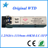 fiber optic node RTXM191-450 WTD 1.25G-1310nm-40km OPTICAL TRANSCEIVER SFP FIBER MODULE