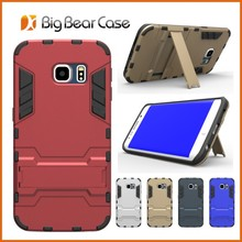 2017 New Design Universal Combo Slim Shockproof Armor Case for samsung s6