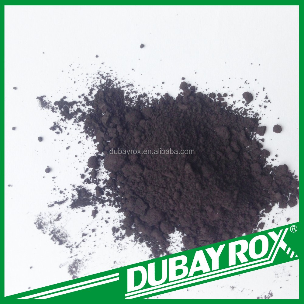 High Heat Resistance Raw Material Black Iron Oxide Pigment for Pottery Ingredients