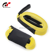 "Car Emergency Roadside Kit Auto Safety Road Assistance Kit 3""x20ft Polyester Recovery Strap Towing strap"
