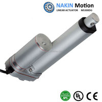 12/24/36V dc motor strong and small linear actuator