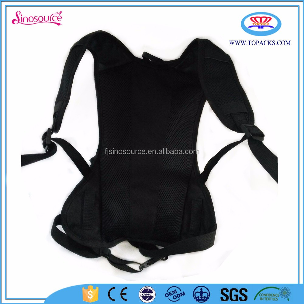 black kid hydration pack water rucksack backpack