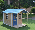 wooden kids playhouse
