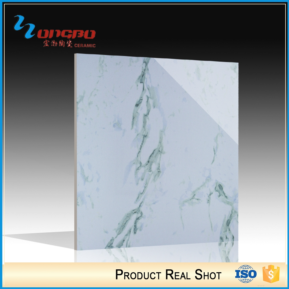 Wholesale Alibaba Cheap Prices Full Glazed Ceramic Blue And White Floor Tile