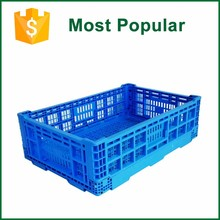 Hot Sale Heavy Duty Foldable Plastic Storage Crates For Fruit