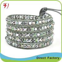 wholesale jewelry fashion bracelet stone bead bracelet howlite bracelet