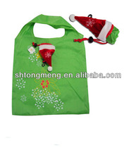 Foldable Shopping Bags for Christmas Hat