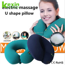 High Quality U Shape Neck Pillow Case filled with Polystyrene Beads