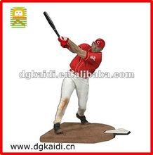 Custom PVC Baseball players action figure