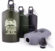 double-wall stainless steel sports bottle ,fashionable style vacuum flask hip flask