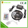 12V 5A power supply waterproof 5050 rgb led strip kit with remote control