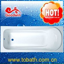 2014 new white acrylic bathtub cheap simple bathtub normal bathtub For Old People and Disabled People