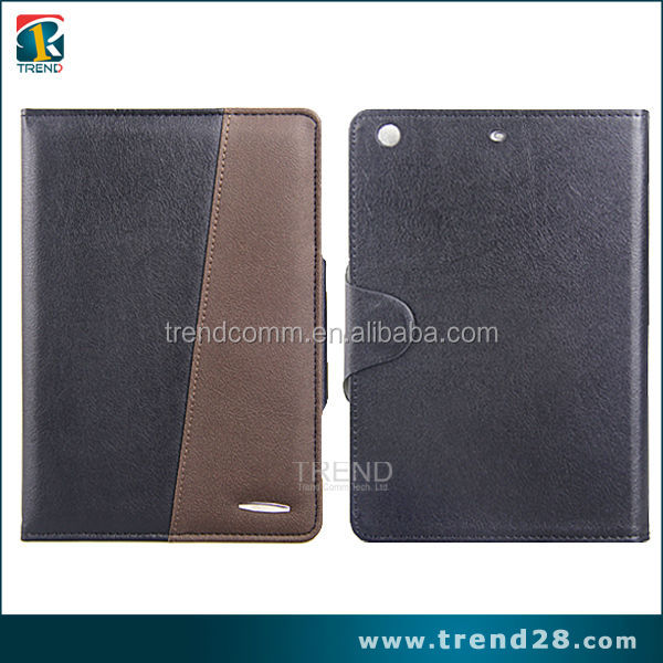 customized color changing leather cover for ipad mini2