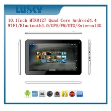 MTK8127 quad core tablet Quad Core 10 Inch Tablet PC With Webcam WIFI HD port Bluetooth IPS screen Android 4.4 Tablet