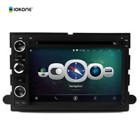 "7"" android tablet double din car dvd player stereo radio player with gps navigation for Ford FOCUS F150 2006-2009"
