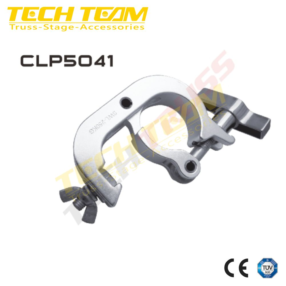 CLP5121 aluminum truss clamp , mounting moving head lighting clamps