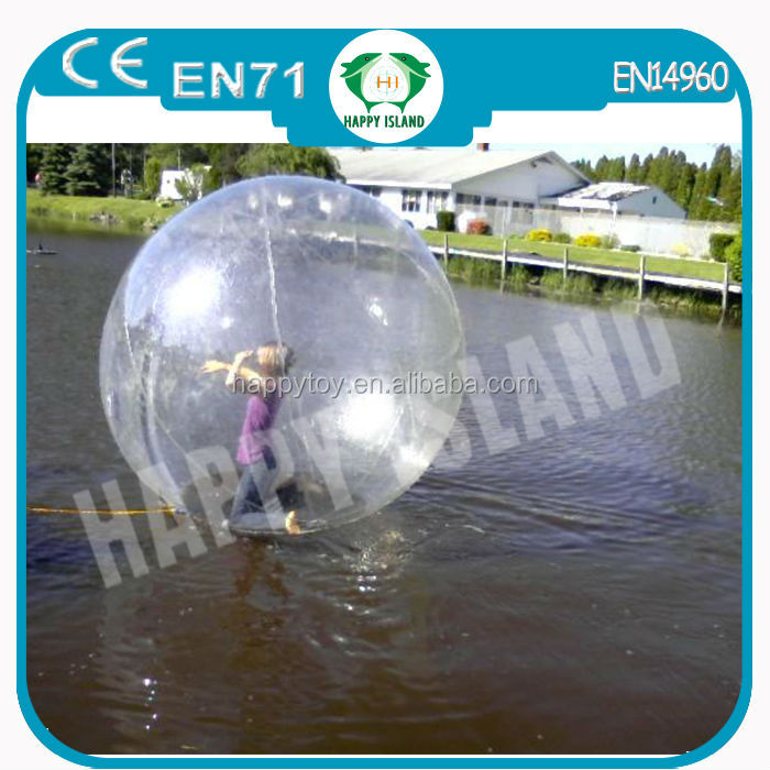 HI CE funny water ball souvenir,water exercise ball ,water t ball toys