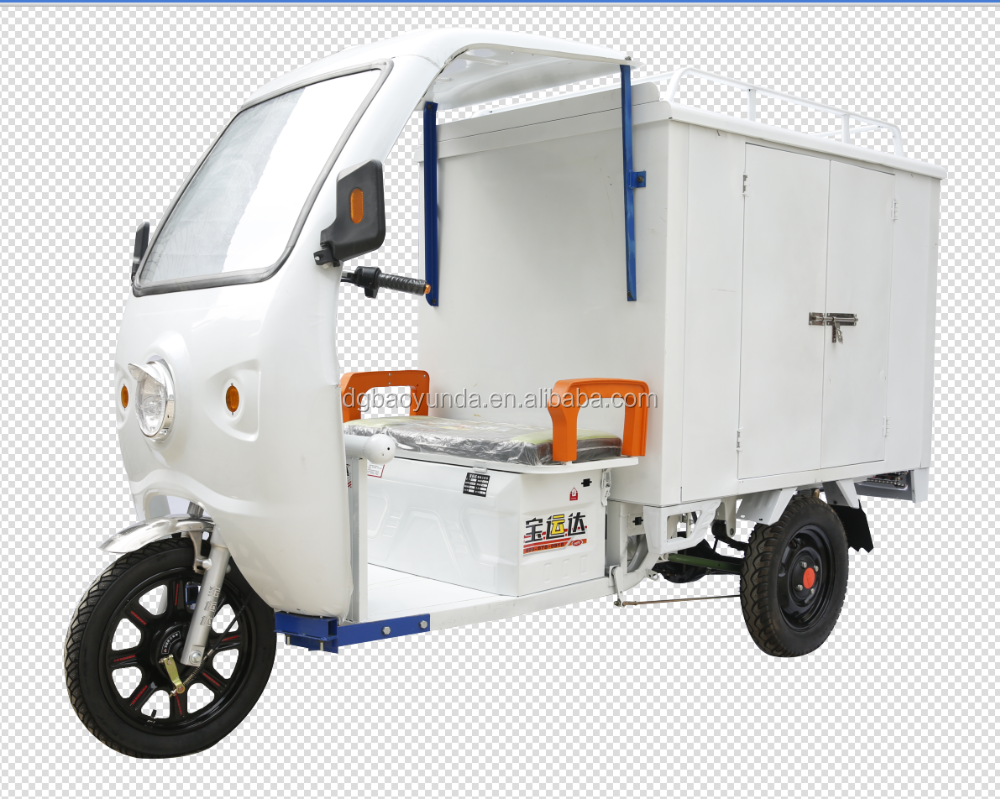 Africa popular cheap adults cargo cabin delivery electric tricycle/tricycle electric