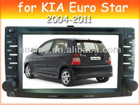 car audio car dvd player for KIA Euro Star 2004-2011 car radio with bluetooth gps navigation