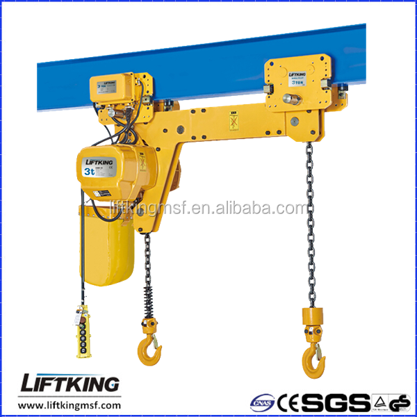 double hook hoist crane