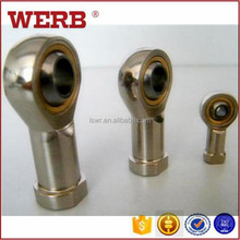 Zhejiang Lishui WERB All type of bearing SI series chromoly rod ends