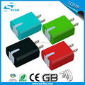 2017 New Oem Factory Wholesale 5V 2.1A US AU EU UK Plug QC 3.0 Dual Usb Wall Charger