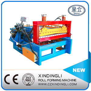XDL Colored sheet metal straightening machine