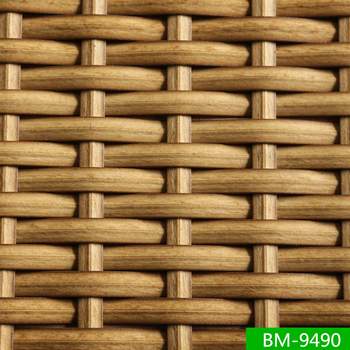 All Weather Natural Style Plastic Rattan Furniture Synthetic Cane