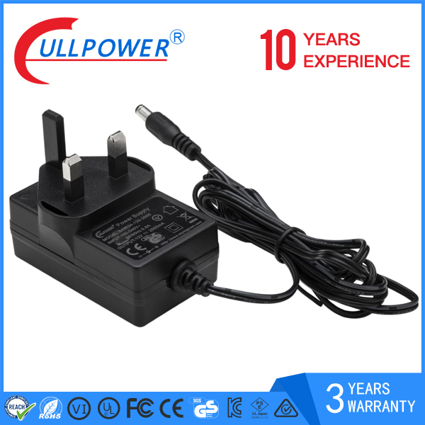 DOE VI UL Class 2 Power Supply 12v power charger ac to dc power adapter 2a ul fcc ce gs saa approval