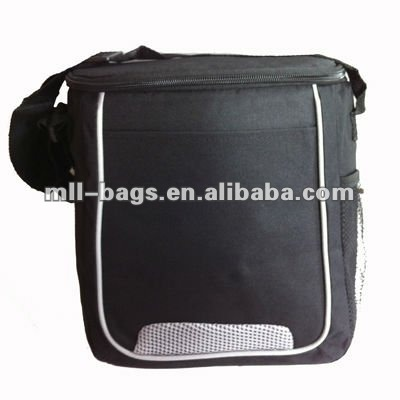 black polyester sling bag shoulder bag