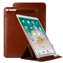 Jisoncase New Product Stand Leather Tablet Cover Case for iPad Pro 10.5inch For iPad Pro leather pouch