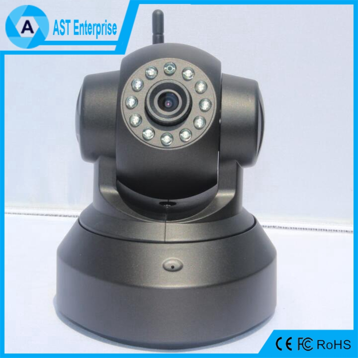 Black or white 720P Wireless cctv security camera with TF card slot baby monitor wifi IP camera indoor