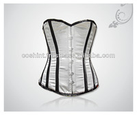 sexy half bust corset white full body leather corset half cup leather corset