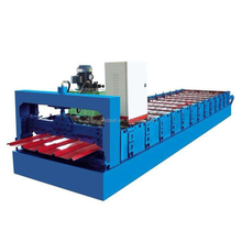 Alibaba Supplier Sandwich Roofing And Wall Panles Roof Metal Tile Roll Forming Machine Made In China