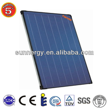 Stainless steel high effciency solar flat plate thermal collector