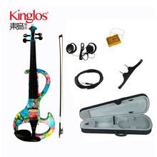 The Best Brands 4/4 Handmade Cheap Price Students electric Violin For Sale(DSZA-1002)