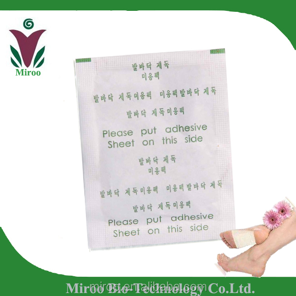 Original Products! Best Selling Bamboo Vinegar Detox Foot Patch, Detox Patches Foot, White Paper Foot Patch