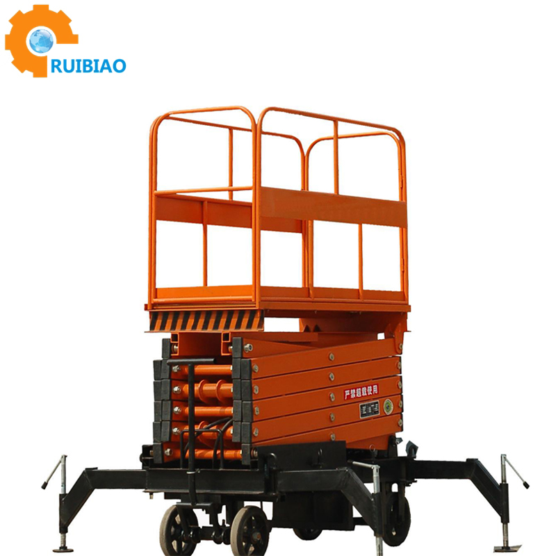Portable Aluminium Plastic Mast Climbing Elevated Truck Mounted Aerial Lifts Work Platform Price