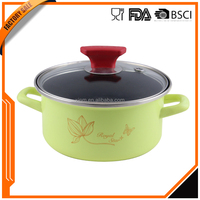 Top selling in alibaba China supplier factory sale enamel camping cookware