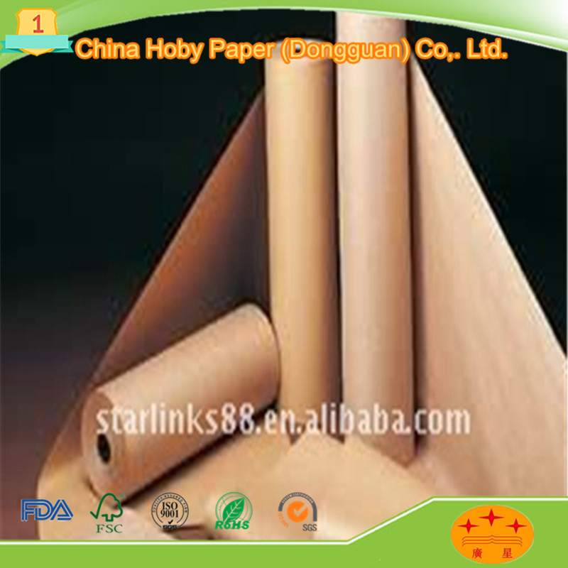 Electrical insulating transformer kraft paper