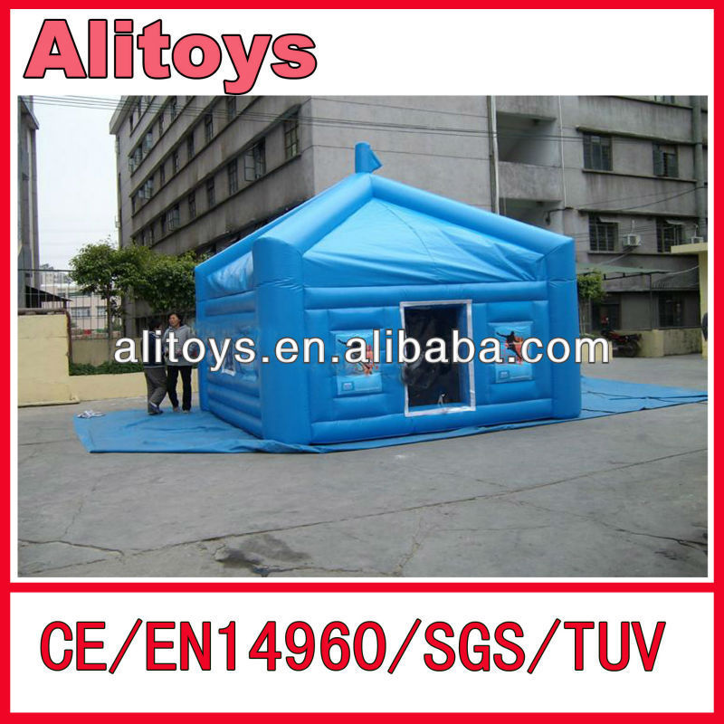 (AliToys!) popular and factory price house model inflatable tent for party