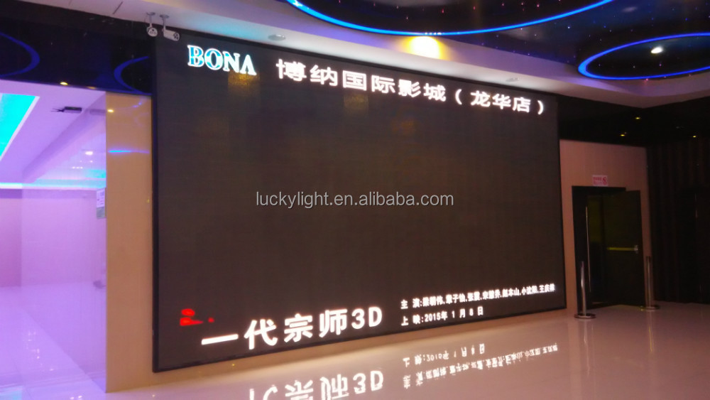 ali hot sale P10 indoor full color led display /stage /movie/ advertisement with high resolution