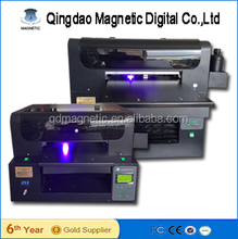 high quality digital 3d uv led flatbed printer ,uv flatbed printer price