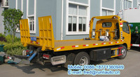 Price of DFAC 4x2 2-3 tons road recovery vehicle truck