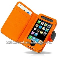 Leather Flip Case Cover for Apple iPhone 3G/4G IP4G-018
